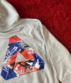 Palace tri camo hoodie