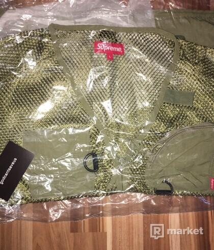 Supreme Mesh Cargo Vest