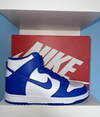 Nike Dunk High Royal  38.5