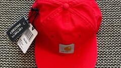 Paccbet X Carhartt Wip Cap Red