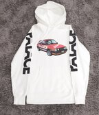 Palace Schotter Hoodie White