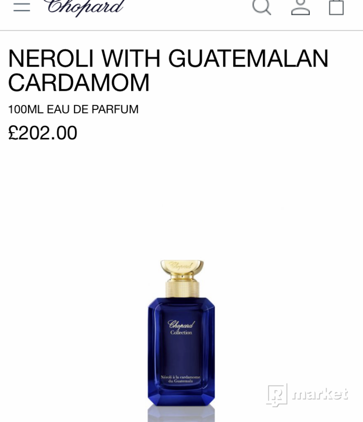 Chopard pánsky parfum