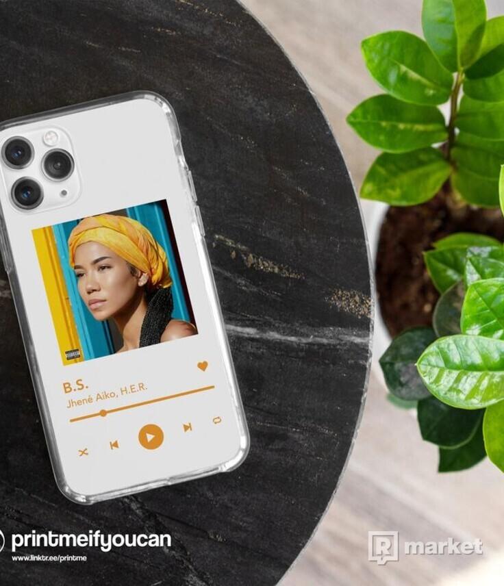 Vlastný Spotify Kryt na iPhone