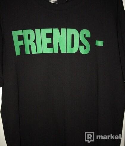 Vlone friends- tee green