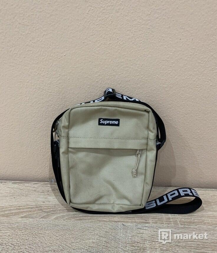 Supreme shoulder bag SS18 TAN CW