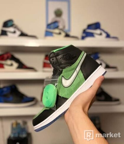Jordan 1 zoom green