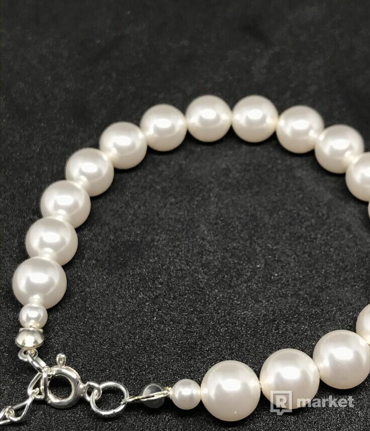 Swarovski pearl  bracelet