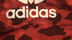 Adidas x bape