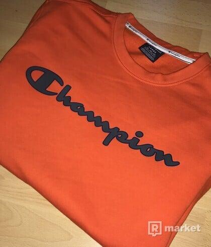 Champion Crewneck Orange