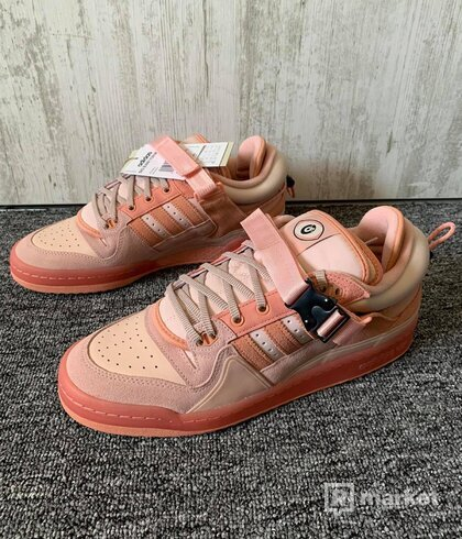 Adidas Forum Low Bad Bunny Pink Easter Egg (US 10)