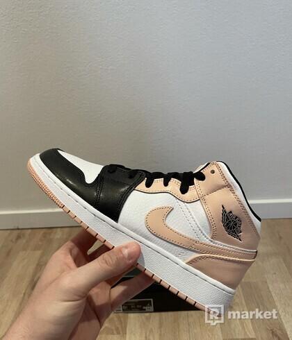 Jordan 1 Mid Arctic Orange Black Toe (GS)