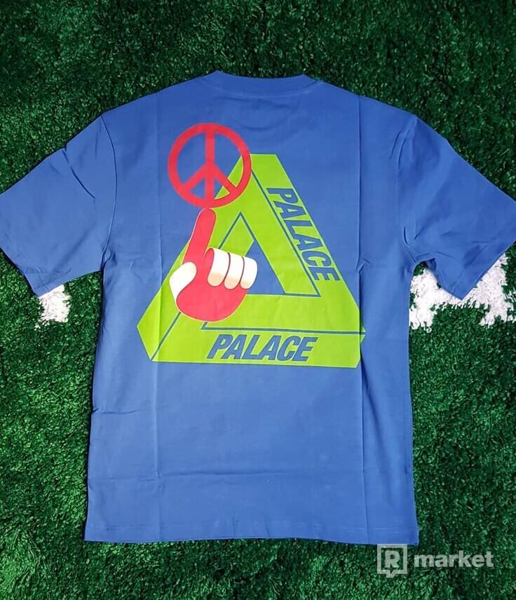 Palace Tri smiler tee blue