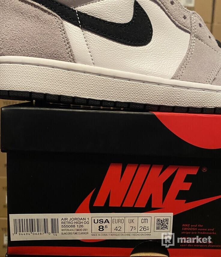 Jordan 1 high OG smoke grey
