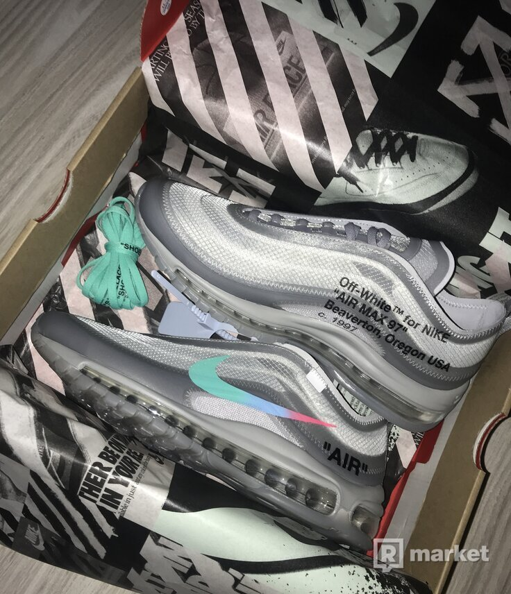 Nike air max 97 x off white MENTA