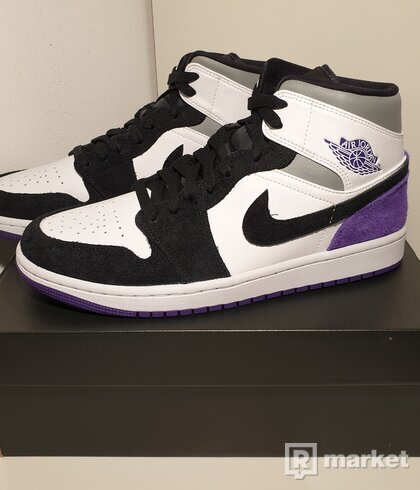 Jordan 1 Mid Se Purple