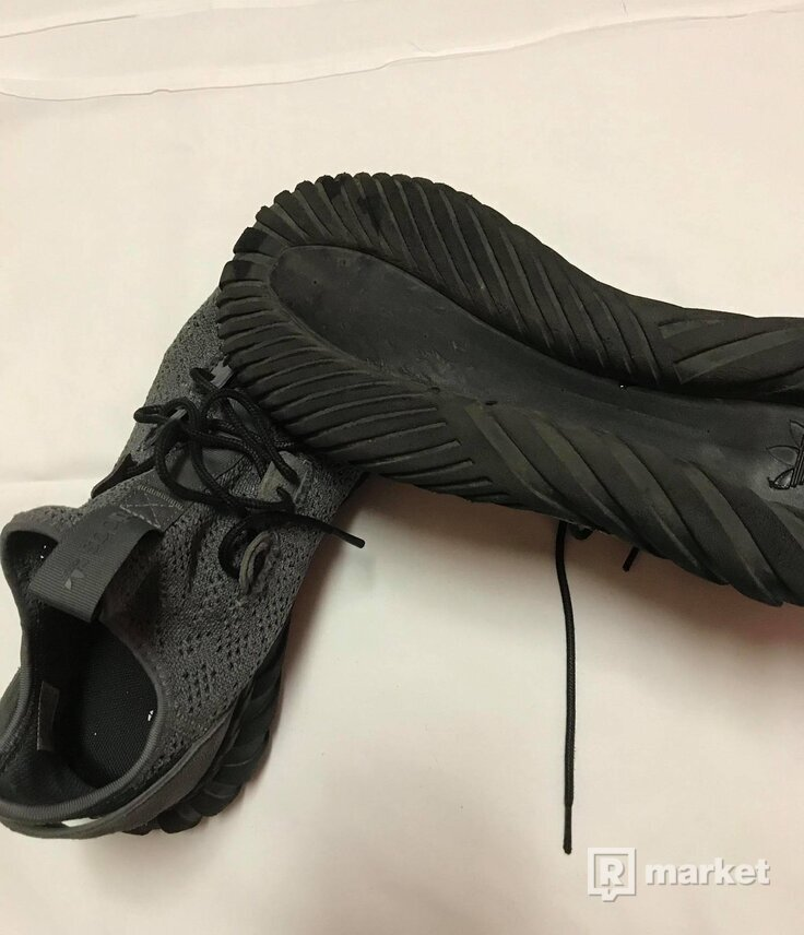 adidas Tubular Doom Sock Primeknit (Grey Four)