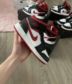 Air Jordan 1 Mid GS Gym Red