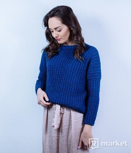 Crop pulóver