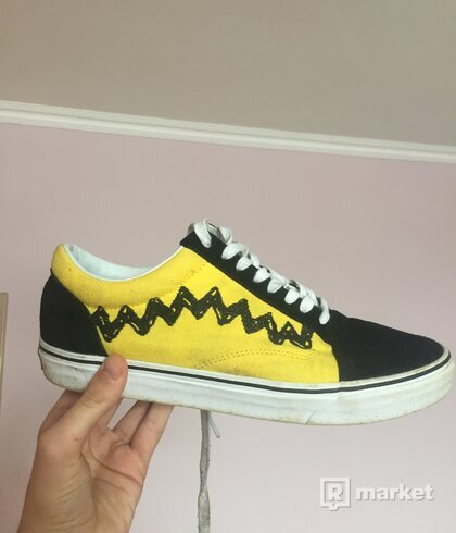 Vans old skool x Charlie Brown