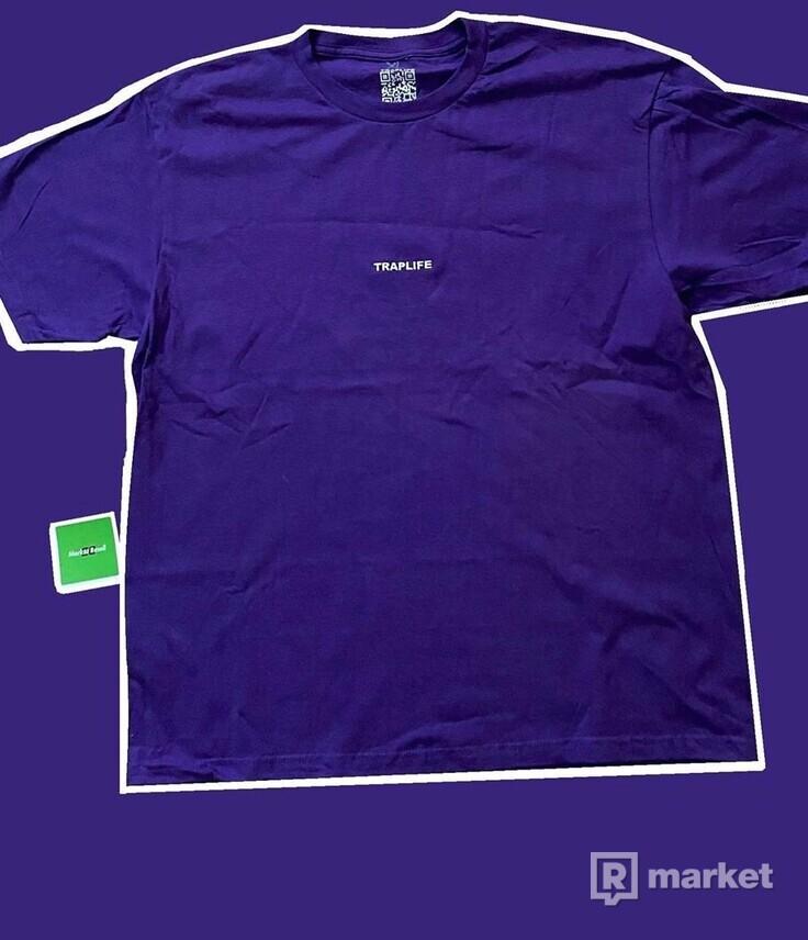 Traplife Purple WAX Tee