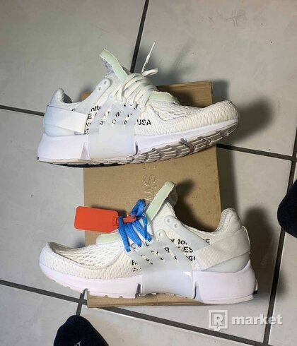 OFF-WHITE x Nike Air Presto 'White'