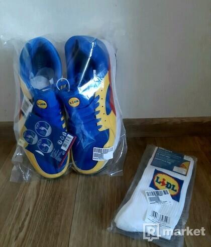 Lidl limitovaná edice boty + Lidl ponožky zdarma