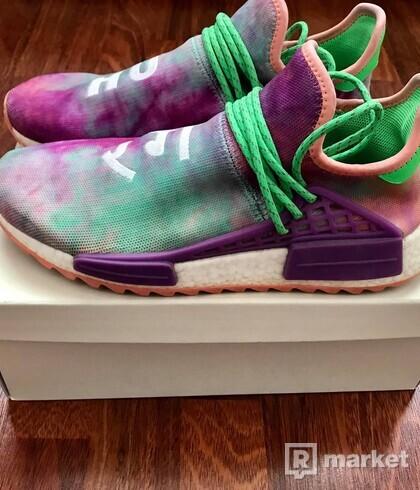 Adidas x Pharrell Williams Hu Chalk Coral