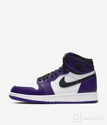 "Air Jordan 1 High ""Court Purple"""