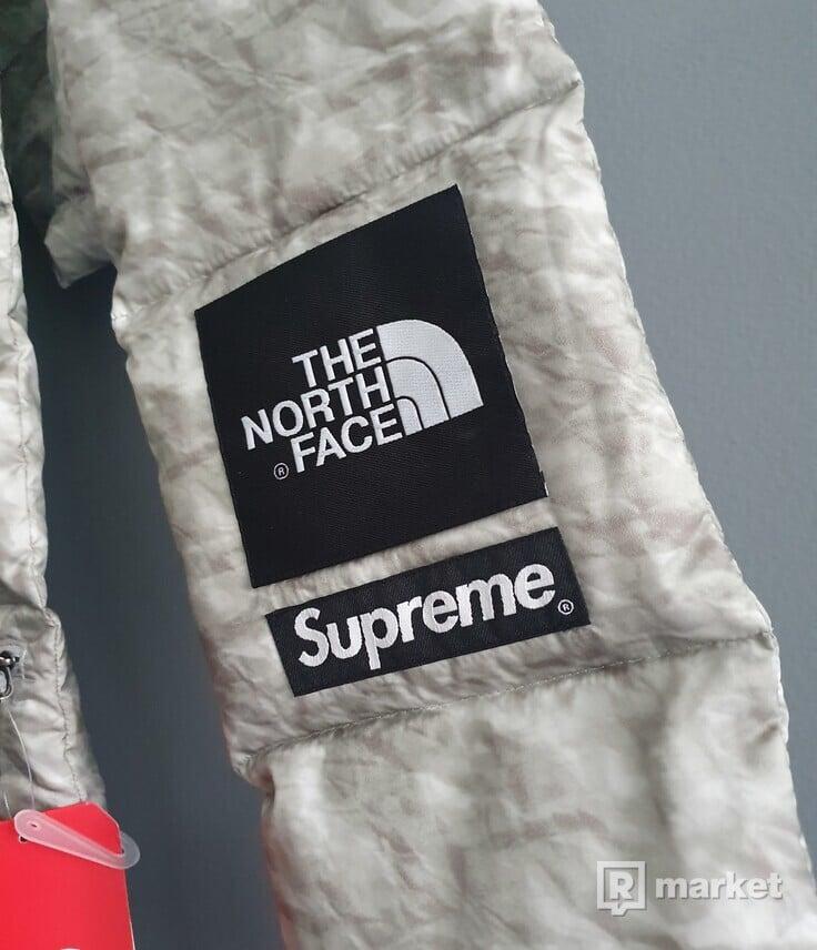 Supreme X North Face Paper Print Scarf