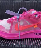 Nike x off white zoom pink