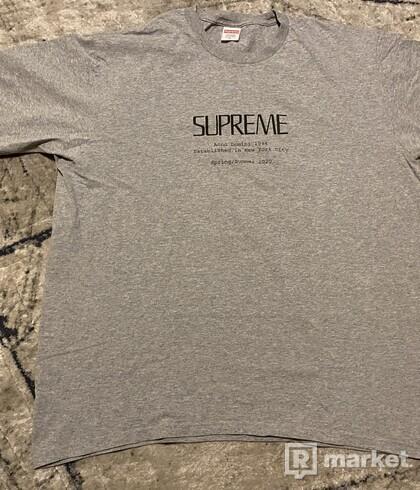 Supreme Domino Tee