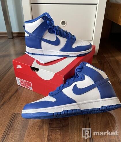 """Nike Dunk Hi - """"Game Royal"""""""