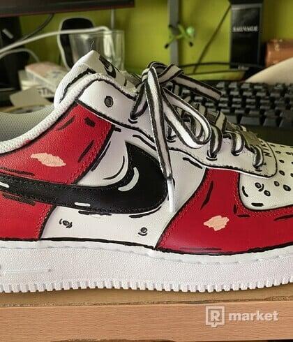 """Nike Air Force 1 Custom """"Cartoon"""""""