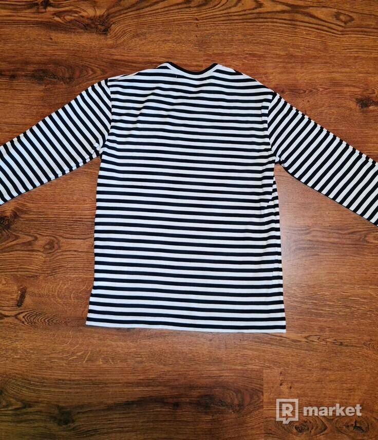 Play Comme des Garçons Striped T-Shirt (Black/White)