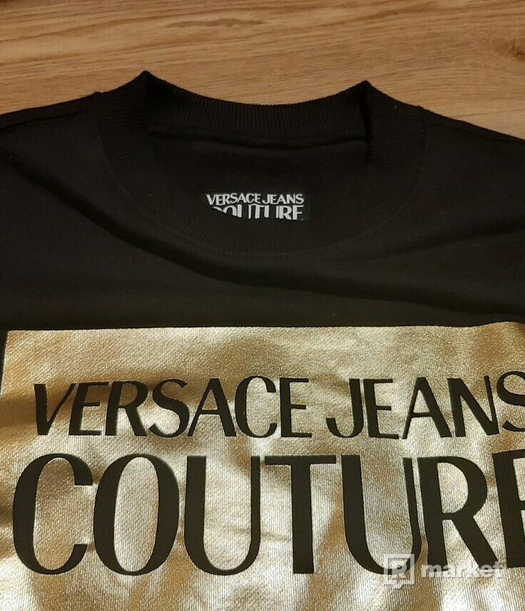 černá mikina Versace