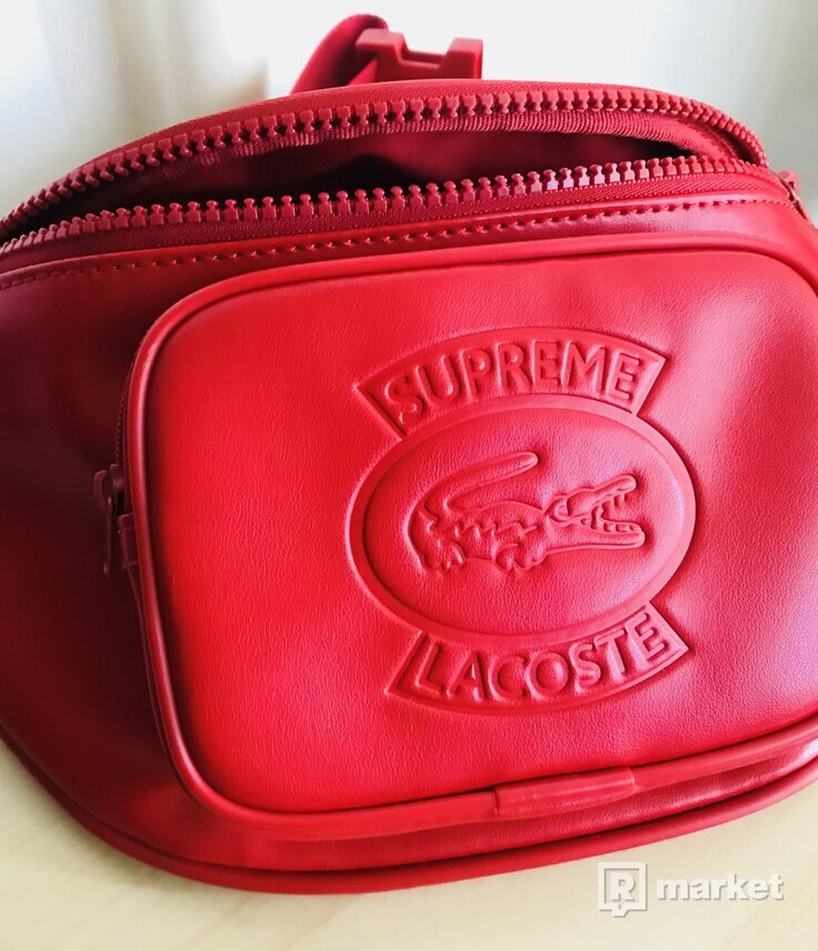 Supreme®/LACOSTE Waist Bag Red