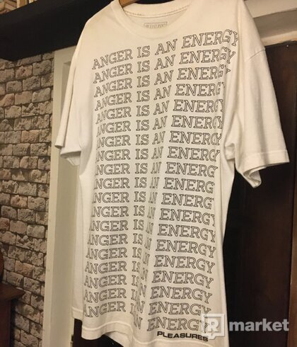 Anger is energy pleasures tee