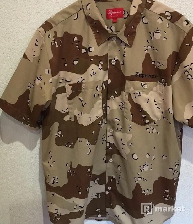 Supreme Sekintani La Norihiro Work Shirt