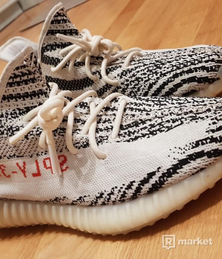 Yeezy zebra