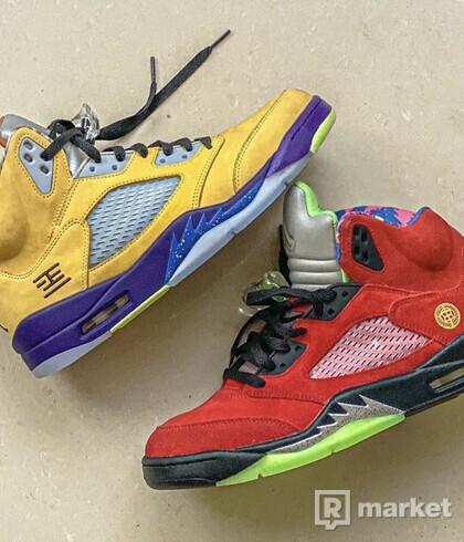 """Air Jordan 5 """"What The"""" 44EU/10US"""