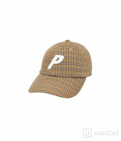 Palace Plaid P 6-Panel Mustard