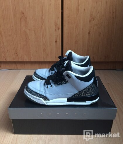 Dámske Air Jordan 3 Wolf Grey
