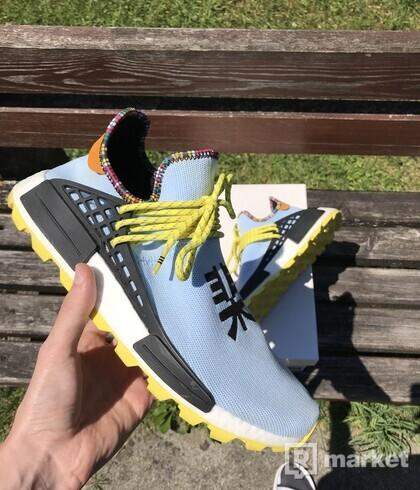 "adidas x Pharrell Williams ""Inspiration"" Hu NMD Clear Sky"