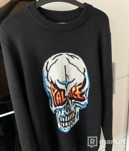 Palace skull knit