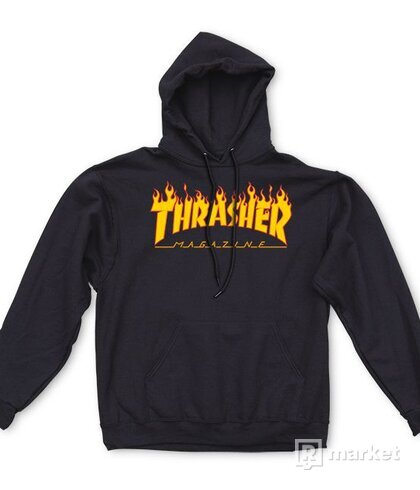 Thrasher Menorah, Thrasher flame