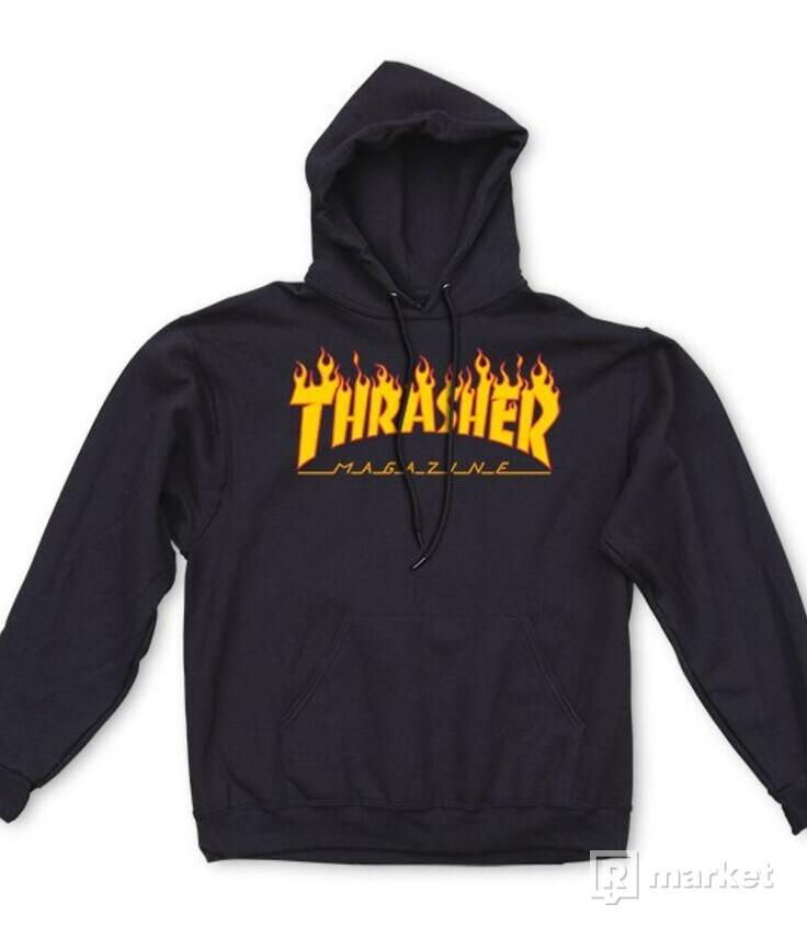 Thrasher Menorah, Thrasher flame
