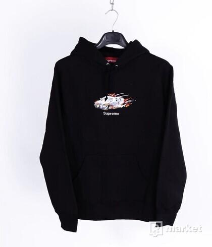 Cop Car Hooded Sweatshirt