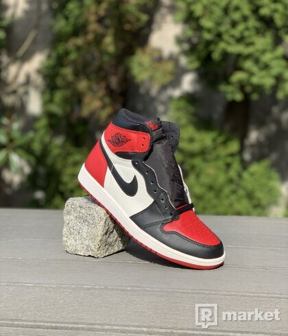 Jordan 1 High OG Bred Toe