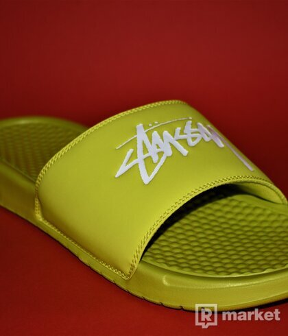 Nike Benassi Stussy Volt (US 9 - EU 42,5)