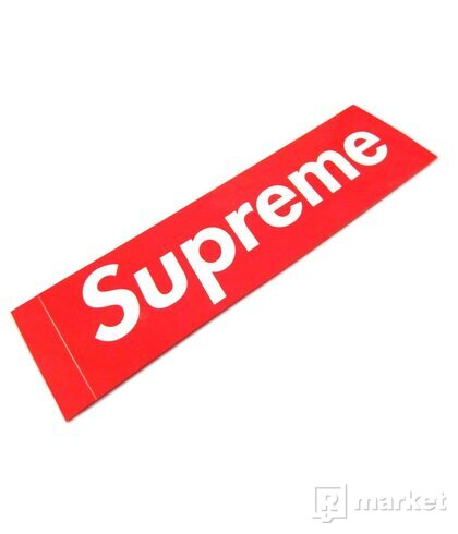 Supreme Box Logo Sticker ČERVENÁ
